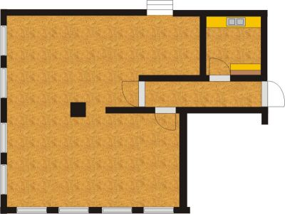 Old Stringfactory - Floor plan of the function room