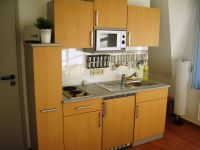 Old string factory - blue apartment 1 - Functional kitchenette with extensive equipment
